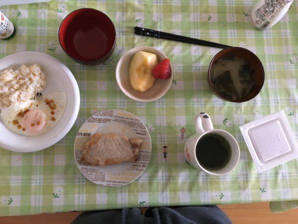 朝食のメニュー①