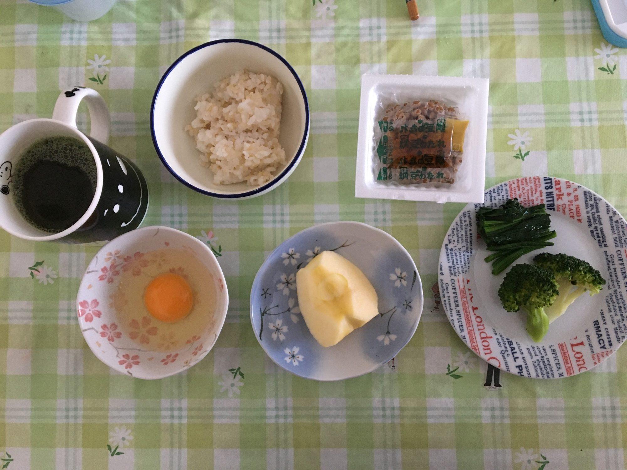 朝食のメニュー②