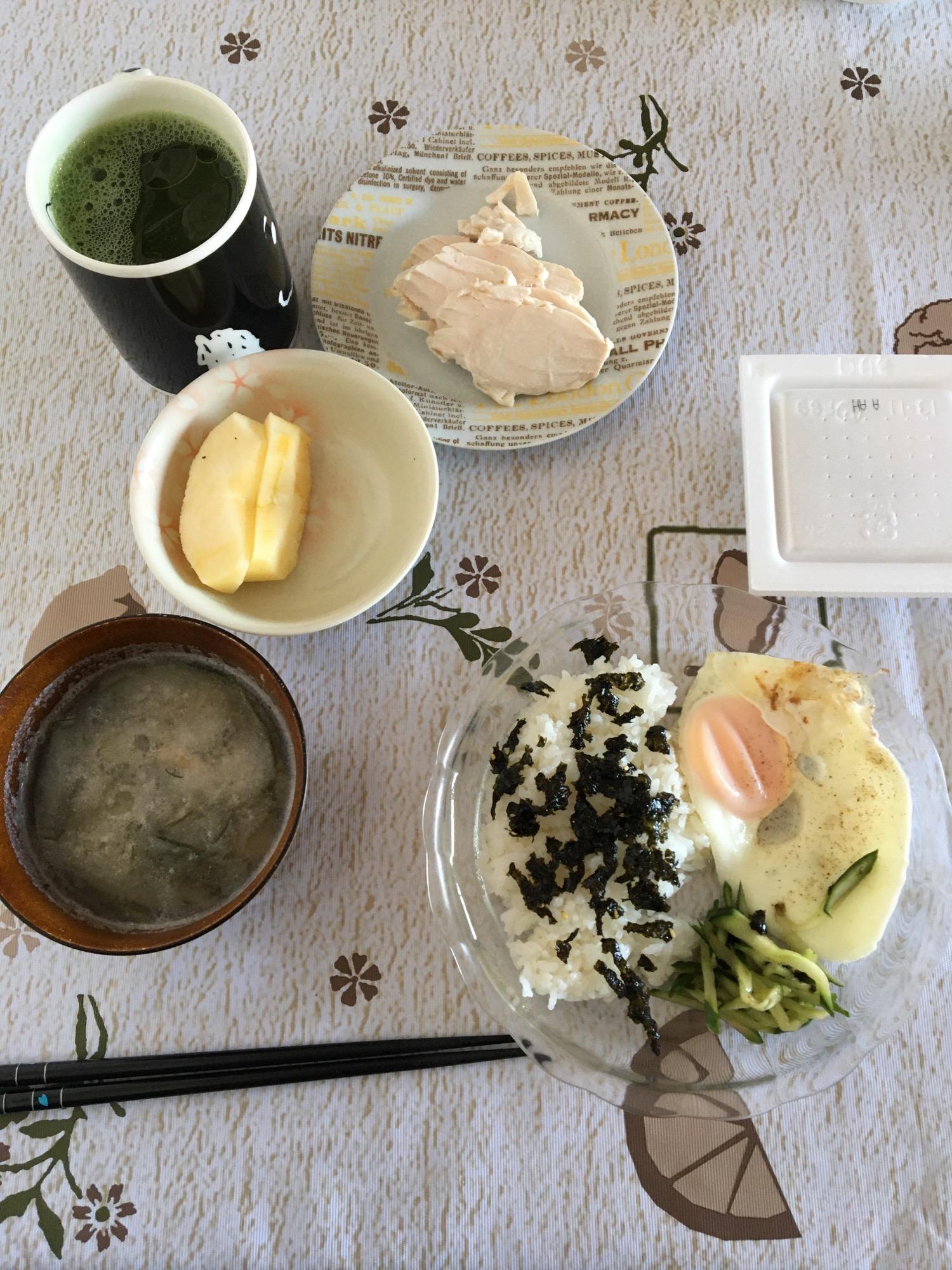 とある日の食事「朝」